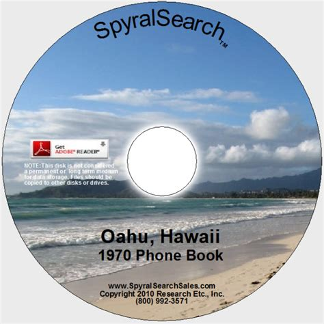Phone Lookup Hawaii Hi Oahu 1970 Phone Book