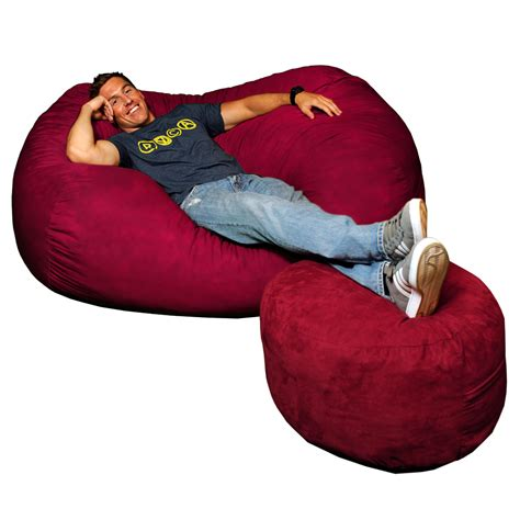 7ft bean bag cover 6 foot theater lounger cover