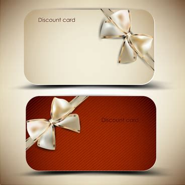 Gift Card At Discount - discount card free vector download 13 019 free vector for commercial use format ai