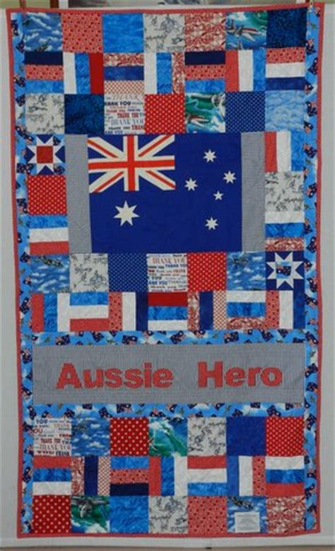 aussie quilts and laundry bags block of the month