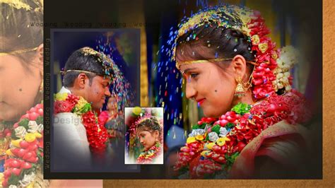 Wedding Album Design In India by Adobe Photoshop Tutorial Indian Wedding Album Design 12x36