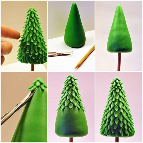 christmas decorations to make at home for free how to make clay christmas tree step by step diy tutorial