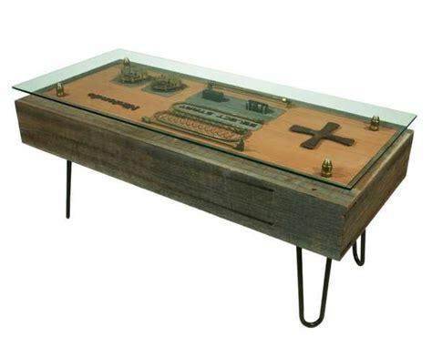 rustic gamer furniture steunk nintendo controller