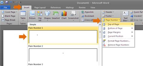 cara membuat halaman pada makalah word cara memberikan jenis penomoran berbeda pada microsoft