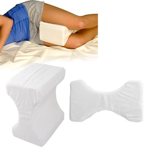 contour memory foam leg pillow orthpaedic back hips and