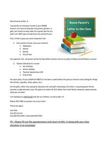 Introduction Letter Room Parent Best 25 Introduction Letter Ideas On
