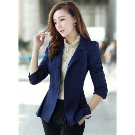 Blazer Kerja Blazer Kerja Wanita Korea T1567 Moro Fashion