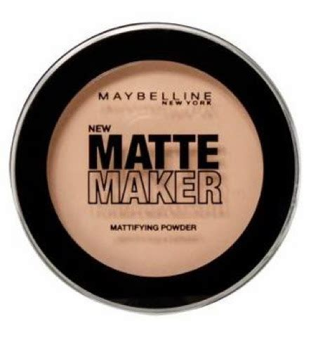 Maybelline Matte Powder house of height fashion lifestyle