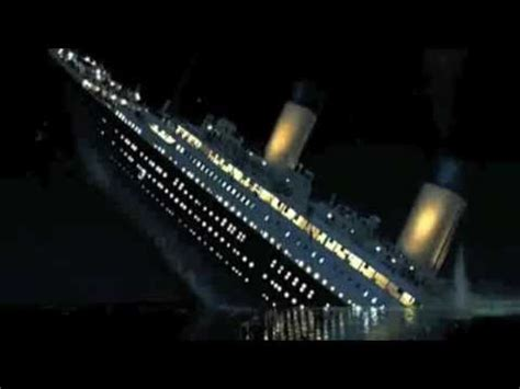 titanic film youtube sinking titanic movie ship sinking scene www pixshark com