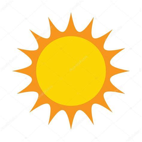 clipart sole disegno di icona simbolo di sole vettoriale illustrazione