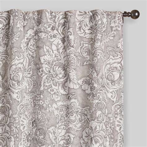 Gray Adelaide Concealed Top Curtains Set Of 2 World Market
