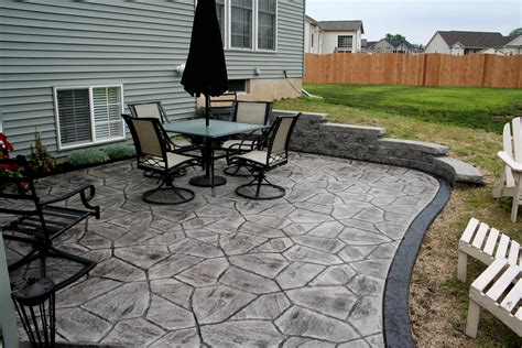 decorative concrete to enhance your home style all sted concrete arizona flagstone nucrete