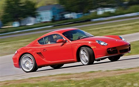 2006 porsche cayman s vs 2006 bmw z4m coupe road test motor trend
