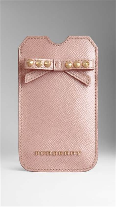 burberry phone burberry phone in pink oyster pink lyst