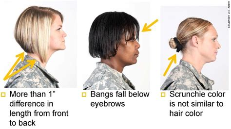 acceptable hair for women in army update army s ban on dreadlocks other styles seen as