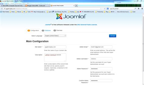membuat website responsive dengan joomla membuat website dengan joomla setiono400