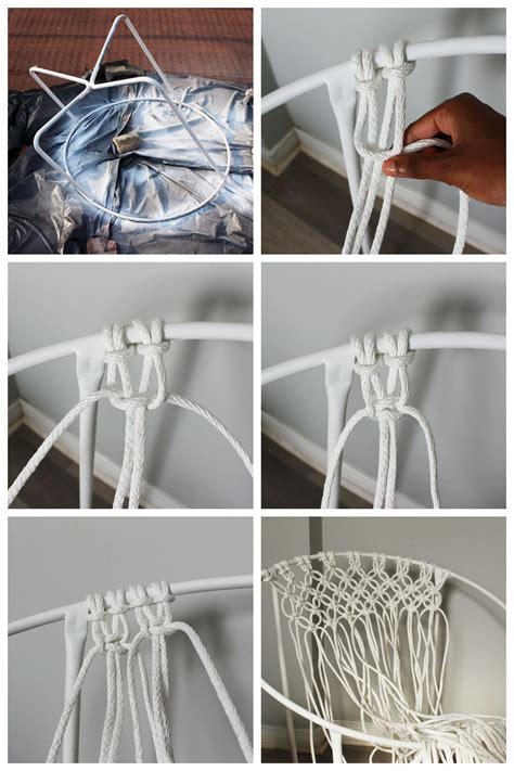 macrame hanging chair plans diy macrame hanging chair chair design ideas