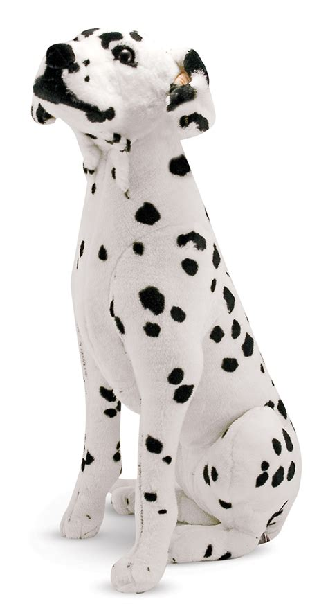dalmatian giant stuffed animal melissa doug