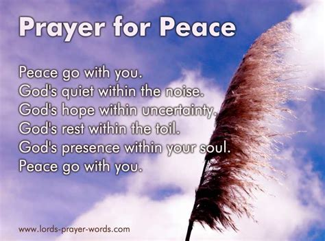 prayer of comfort and peace 9 prayers for peace of mind receive god s peace