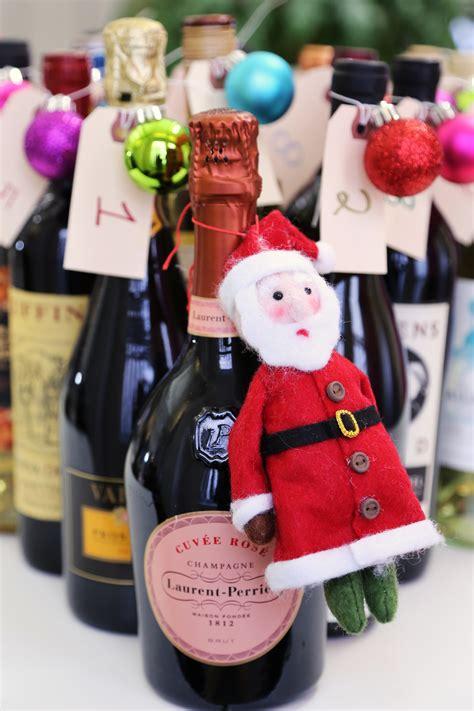 Wine Advent Calendar Diy Wine Advent Calendar Popsugar Food