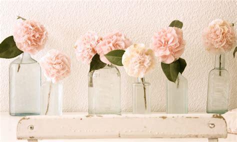 peonia in vaso il significato dei fiori shabby chic