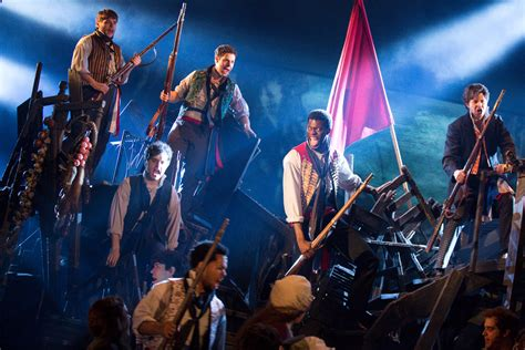 Les Miserables Returns To Broadway by Les Miserables Review Darkened Stages Brilliant Broadway