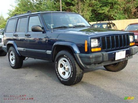 Jeep Sport 4x4 2001 Jeep Sport 4x4 In Patriot Blue Pearlcoat