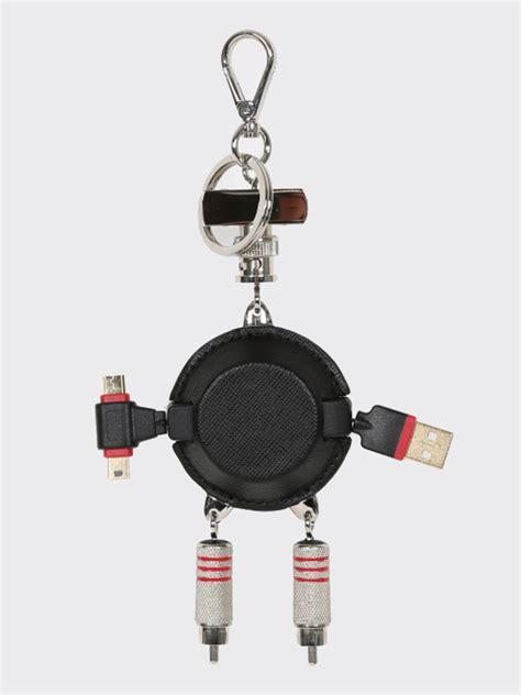Usb Robot prada usb port robot keyholder luxury bags