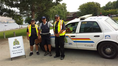 Rcmp Background Check Rcmp And Volunteers Begin Marine Pre Checks In Vernon City Of Vernon