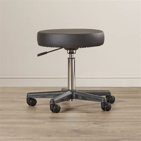 Adjustable Height Rolling Stool by Ergonomic Adjustable Rolling Stool Office Indoor