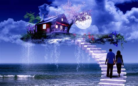 good night couple wallpaper hd romantic love hd walpaper