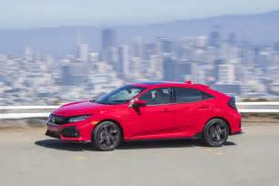 Honda Hatch Back 2017 Honda Civic Hatchback Prototype Revealed In New York