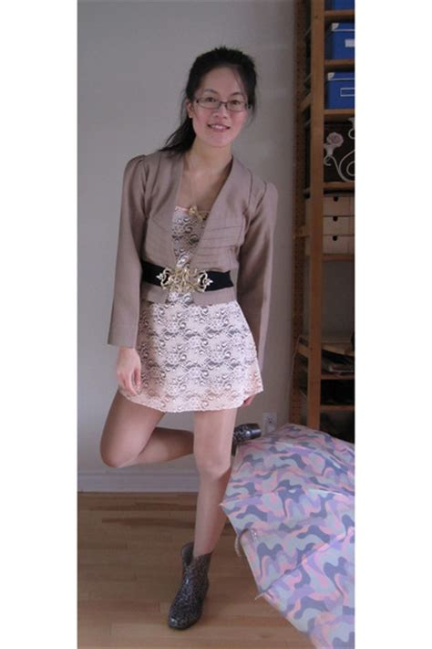 pink dresses brown blazers black belts quot lace and