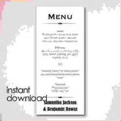 Free Wedding Menu Templates For Microsoft Word by Doc 464600 Microsoft Word Restaurant Menu Template