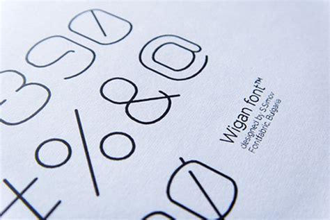 printed fontfabric typefaces on behance