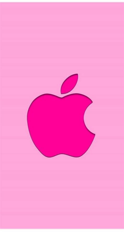 wallpaper apple pink pink apple logo wallpaper pomme pinterest
