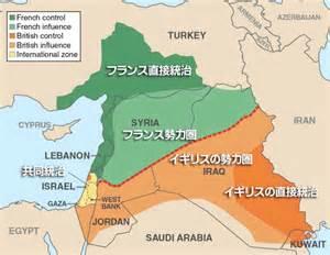 middle east map in 1920 パレスチナ問題の経緯 第一次世界対戦中 聖書と歴史の学習館