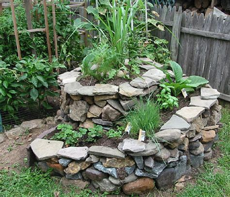 Rock Garden Herbs Temperate Climate Permaculture Permaculture Projects Herb Spiral