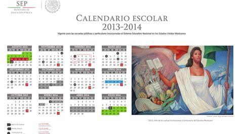 Calendario Escolar Calendario Escolar 2013 2014 Apoyo Primaria