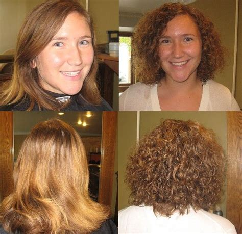 curly perm before after pin by jenna bree on curly hair perms pinterest