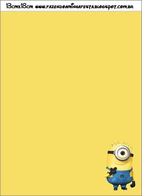 printable minion stationery minion party invitations gangcraft net