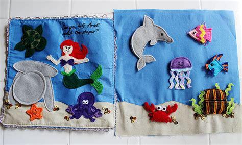 libro the sea close by little mermaid ariel under the sea ocean felt quiet book