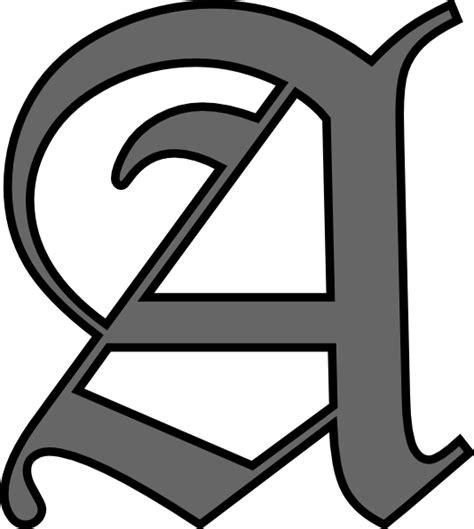 letter a clipart alphabet letter a clip at clker vector clip