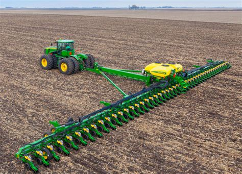 Largest Corn Planter showcasing the deere db120 deere s largest planter yet