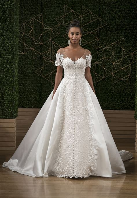 wedding dress sottero sottero and midgley lace gown wedding dress with