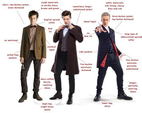 The Sad Evolution Of Costumes by 1000 Images About Doctor Who Costume Design On
