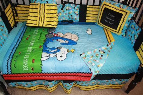 charlie brown bedding charlie brown crib bedding for a funky peanuts nursery