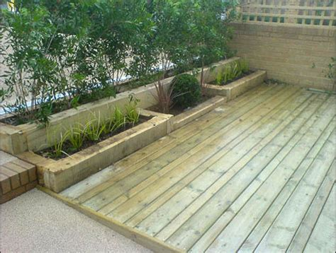 mj pattenden landscape services railway sleepers
