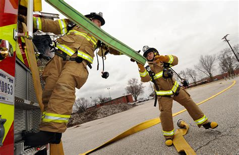 out of the ashes 55th wing commander learns firefighting skills gt offutt air base gt news