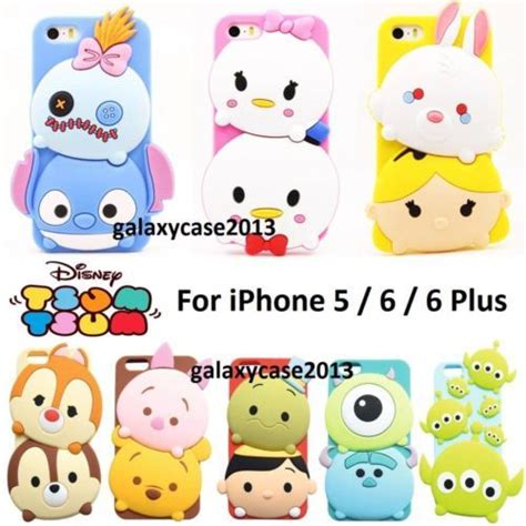 Tsumtsum Disney Casing Oppo Find 5 Custom disney soft silicone rubber back cover for iphone 5s se 6 6s plus silicone